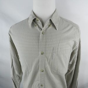 Columbia L Large Men's Shirt Button Down Gray